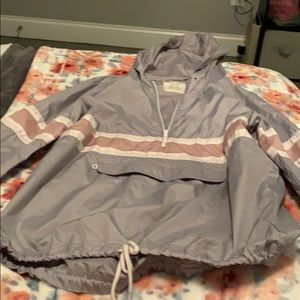 zumiez half zip windbreaker